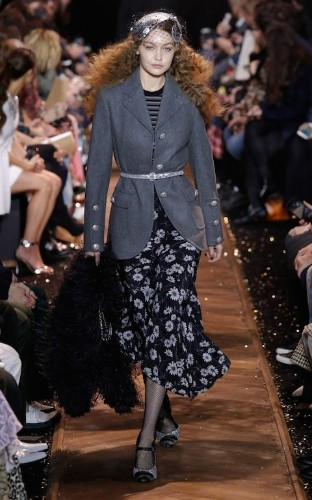 Studio 54 chic and a Barry Manilow cameo at Michael Kors
