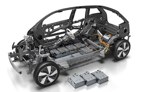 What happens to used lithium-ion battery packs from electric cars?