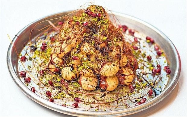 New Year's Eve: Croquembouche recipe