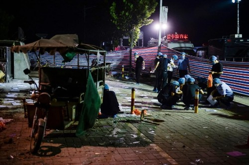 China nursery explosion was a bomb made by man who died at the scene