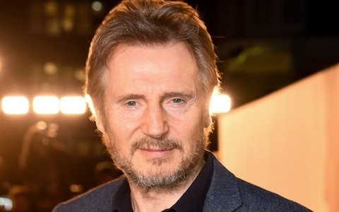 Liam Neeson 'airbrushed from Queen's University prospectus'