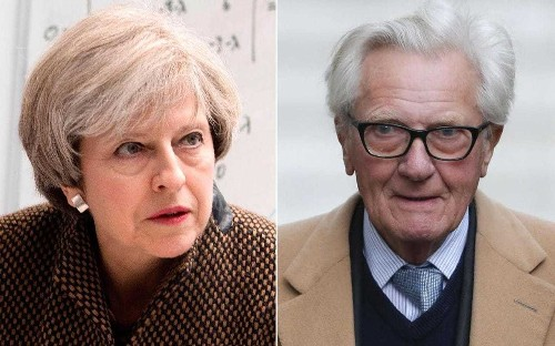 Lord Heseltine is sacked after Brexit rebellion and admits 'I'll be dismissed as a funny old fart but I won't change'