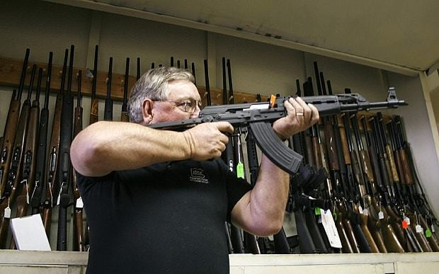 The first American-made AK-47s are on sale in the US