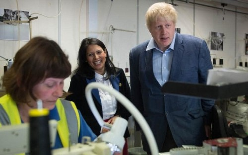 'It'll be fine, folks!' Boris Johnson fights for Brexit in the north