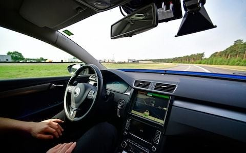 Driverless cars to be subject to 'digital MOT' under Government plans