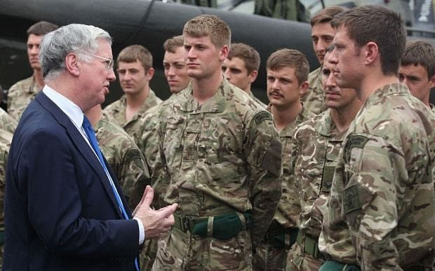 'You cannot stop Ebola' US experts warned British troops