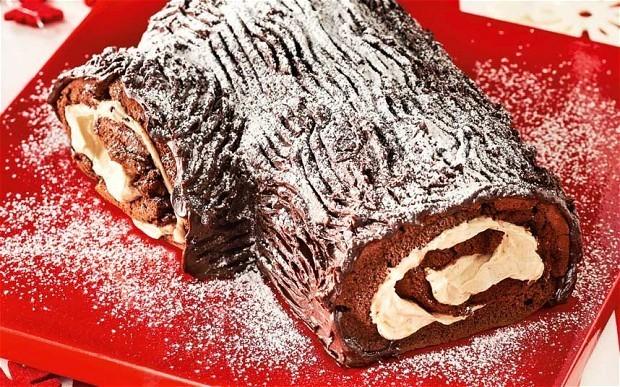 The new baker: Christmas yule log