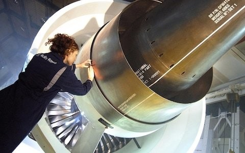 Rolls-Royce shares drop on fears of mounting trouble with Trent 1000 egine