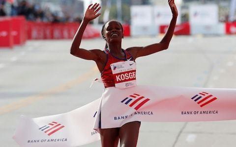 Kenya's Brigid Kosgei demolishes women's marathon world record to end Paula Radcliffe's 16-year stint at the top