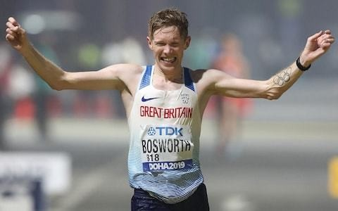 'Don't you dare hide it away' - race walker Tom Bosworth urges those with mental health issues to talk after claiming 7th at World Championships