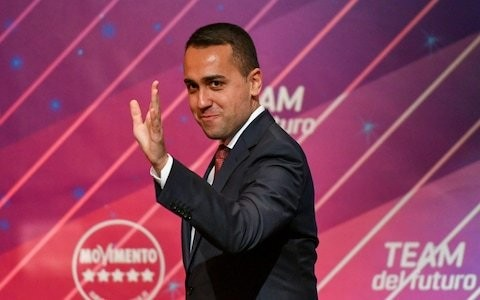 Luigi di Maio steps down as head of Five Star Movement party ahead of bellwether regional election