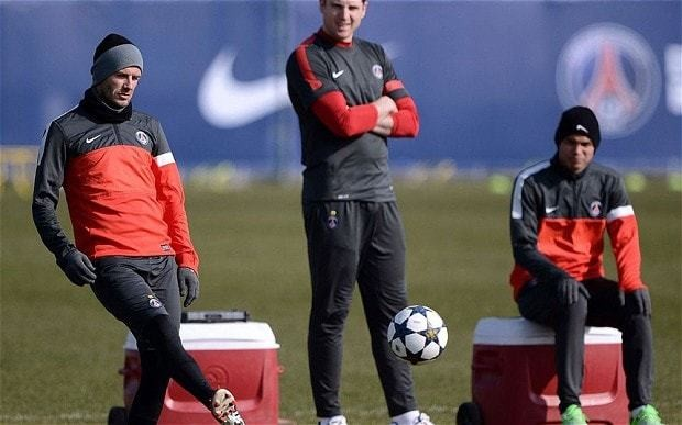 Paris St Germain v Barcelona: David Beckham tells French side to believe they can beat Spanish giants
