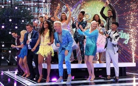 Dancers take to the stage for launch of 17th series of Strictly Come Dancing