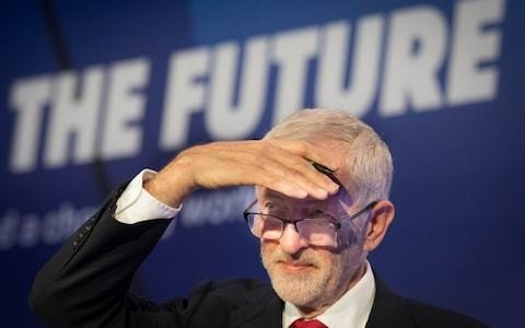 Jeremy Corbyn promises revolution in British politics akin to Margaret Thatcher's 1979 landslide if Labour wins snap Brexit general election