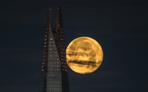 December's Supermoon from around the globe, in pictures