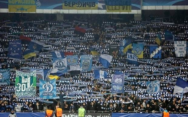 Dynamo Kiev consider calls to segregate black fans to prevent racism inside stadium