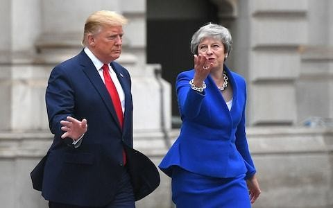 The Kim Darroch row is a message to Theresa May's successor - Get Brexit right or face Donald Trump's wrath