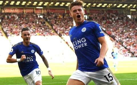 Harvey Barnes gives further evidence of talent with stunning strike to help Leicester overcome Sheffield United