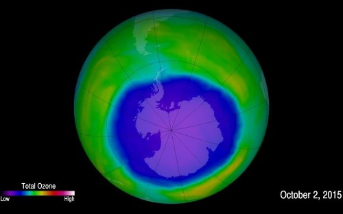 Hole in ozone layer is closing and will be 'healed' by 2050, scientists say