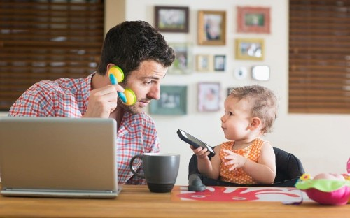 Why shouldn't fathers be allowed to work flexibly too?