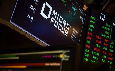Micro Focus chairman nets £11.6m after selling half his shares for 'personal reasons'