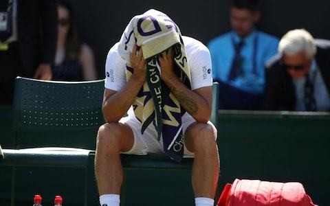 Dan Evans feels emotional toll of long road to return as win makes him last British male player left at Wimbledon