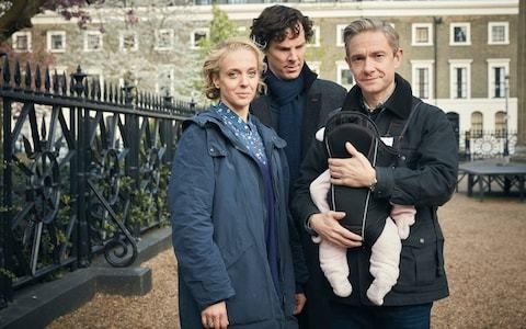 Revealed in the Telegraph: the mystery of the Sherlock baby name
