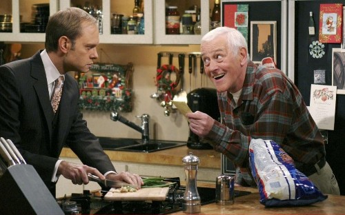 How John Mahoney and Martin Crane provided the soul to Frasier