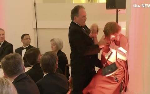Mark Field claims his reaction was instinctive - but would he have been so quick to lay hands on a man?