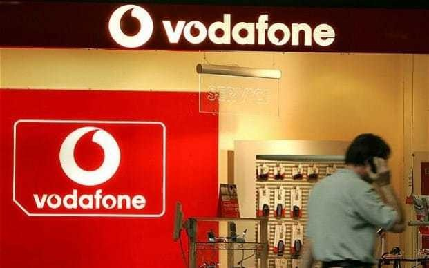 Vodafone boss insists UK is 'attractive' place to do business as sales tumble