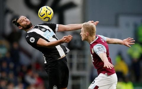 Andy Carroll rails at claims he should have been sent off in 'disgusting game' at Burnley