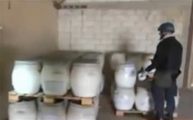 Syria has 'destroyed' all chemical arms equipment as weapons are placed under seal