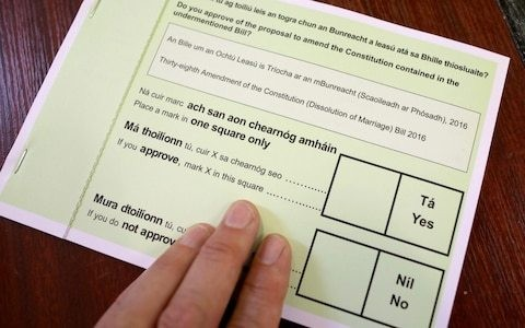 Ireland referendum: Voters back plan to allow divorce without four-year separation