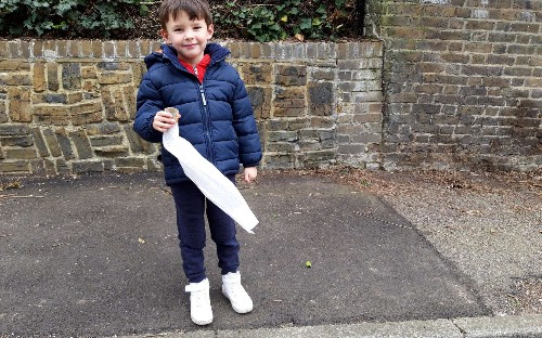 Letter from Lockdown: My son used our loo roll to make a toy - are we as bad as the Bullingdon Club?