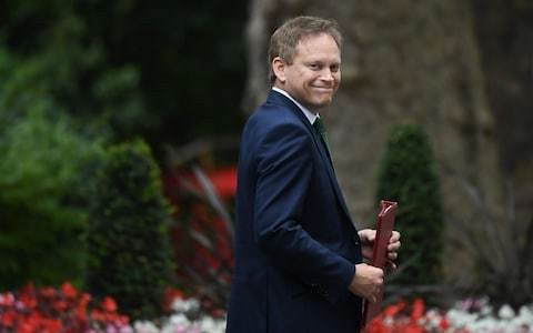 Transport secretary Grant Shapps refuses to back fuel tax cuts as he vows to deliver electric car revolution