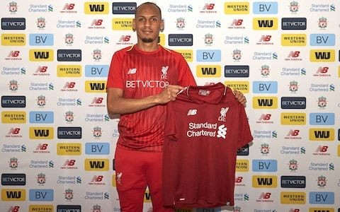 Liverpool sign midfielder Fabinho for £43.7m from Monaco