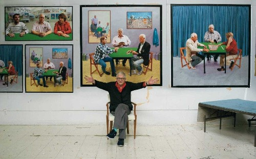 David Hockney's guide to keeping your eyes fresh in an Instagram world