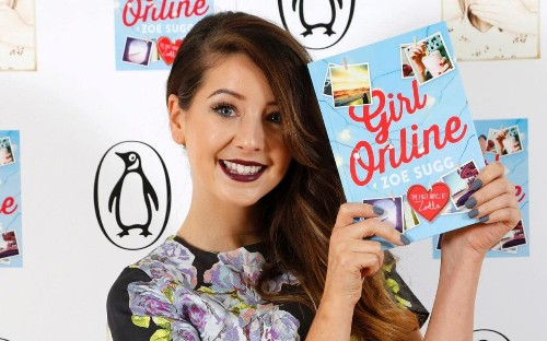 Was Zoella's novel Girl Online ghostwritten?