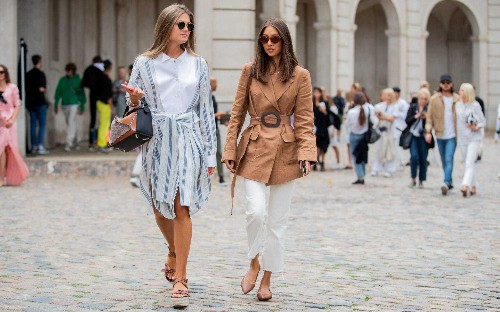 The chicest street style looks from Copenhagen Fashion Week