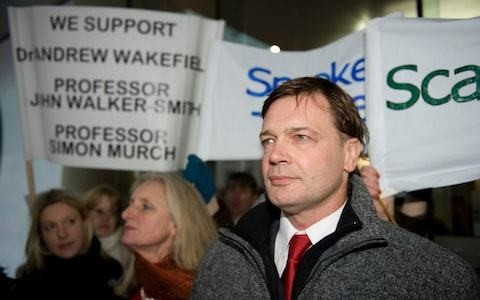 Andrew Wakefield claims vaccines are making measles 'more dangerous'