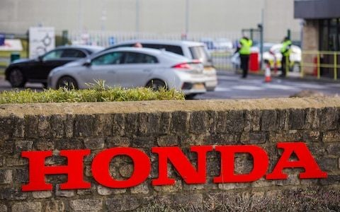 Honda confirms closure of Swindon plant with loss of 3,500 jobs