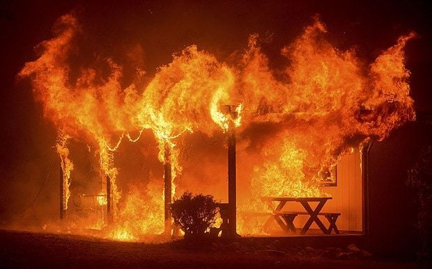 Northern California wildfires death toll reaches five