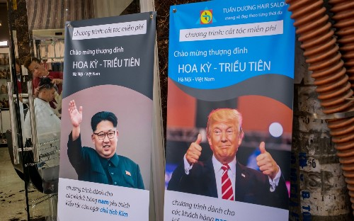 A purge, a haircut and a very long train ride ahead of nuclear summit in Hanoi
