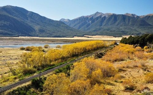 New Zealand's best rail journeys: Charles and Camilla just scratch the surface