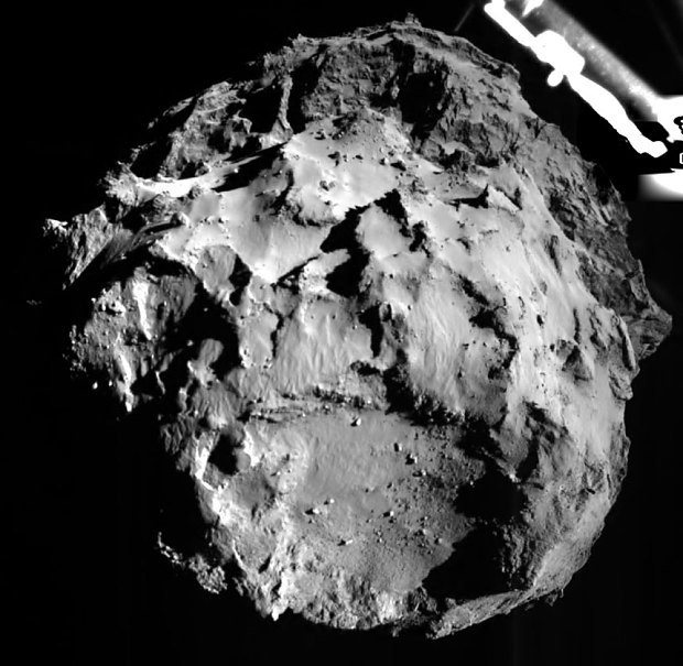 Philae, Europe's comet lander, wakes up after seven months