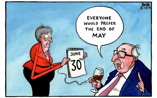 May is now the Remainers' greatest asset - they are in no hurry to see her go