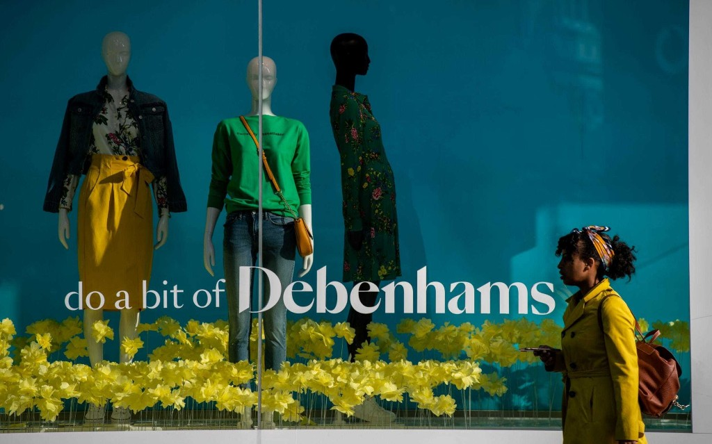 Debenhams fails to make pension payment as administration looms