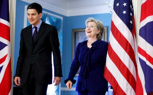 David Miliband 'to be given top US government job if Hillary Clinton becomes president'