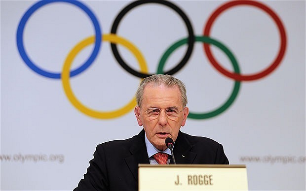 IOC president Jacques Rogge concedes he is powerless to influence Russia's anti-gay laws ahead of Sochi Games