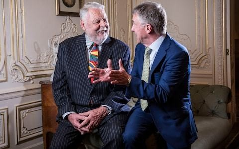 Former hostages Terry Waite and John McCarthy on Lebanese soil together for first time since kidnap